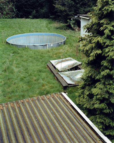 Garten, Spenrath, Mai 2006 (aus: Orte ohne Wiederkehr)