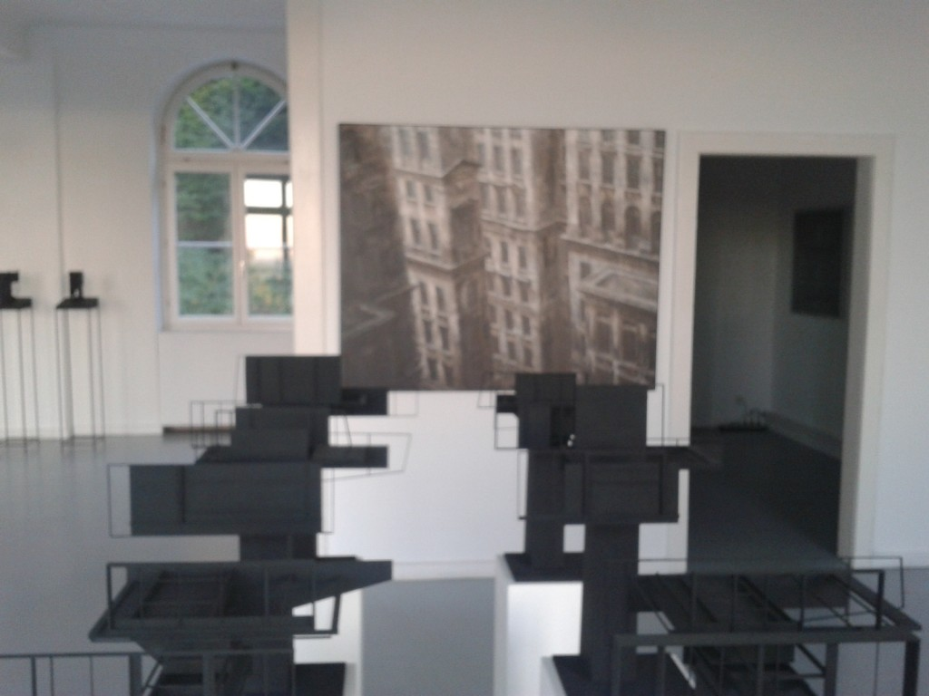 (In)Visible Cities: Blick in die Ausstellung (Foto SK)