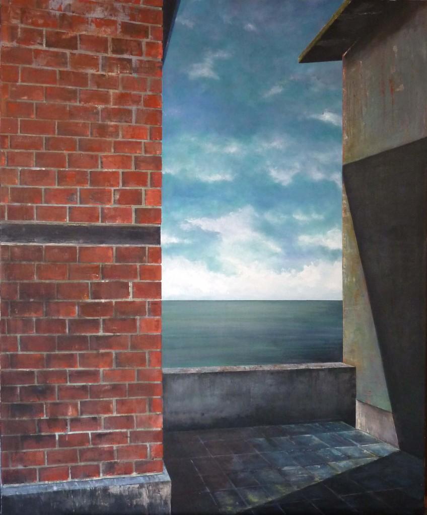 Klare-Sicht II, 110x90, 2012
