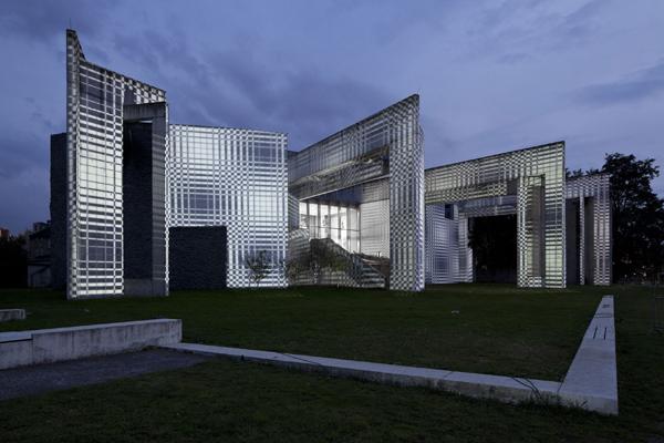 4D House, Ruhrlights: Twilight Zone, Ruhr.2010, Duisburg, 2010 (Foto: Werner Hannappel)
