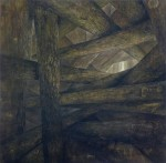 Stämme, 180 x 180 cm, 2012