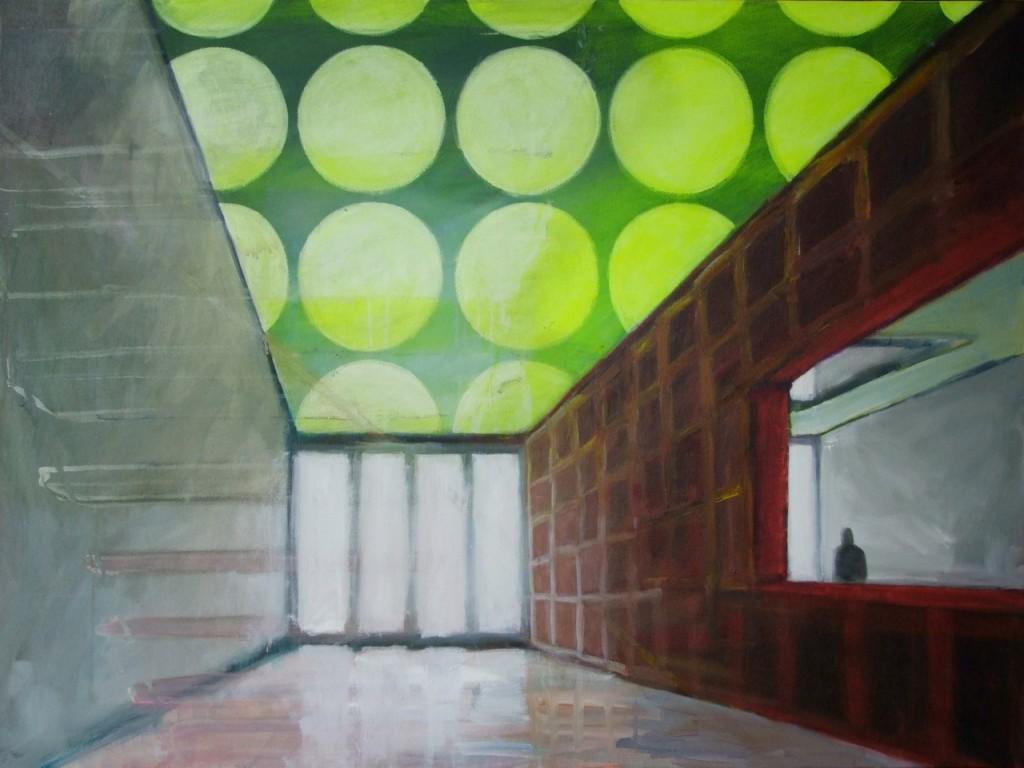 Foyer, Acryl auf Leinwand, 90 x 120 cm, 2011