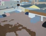 Post-urban Vision No.5, 2009, Oil on Canvas, 120 x 150 cm
