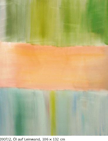 2007/2, Öl auf Leinwand, 106 x 132 cm