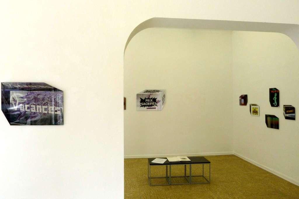 Ausstellungsansicht Galerie Greulich, Frankfurt