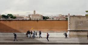 Quo Vadis, 2013, 50 x 200 cm