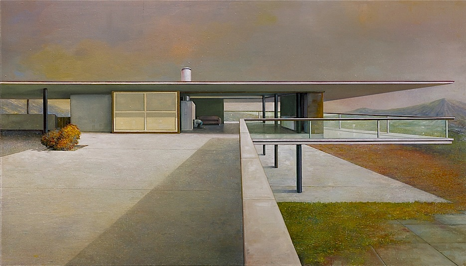 modern house 4 - 120cm x 210cm - oil/canvas - 2010