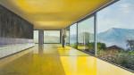 modern house 3 - 120cm x 210cm - oil/canvas - 2010