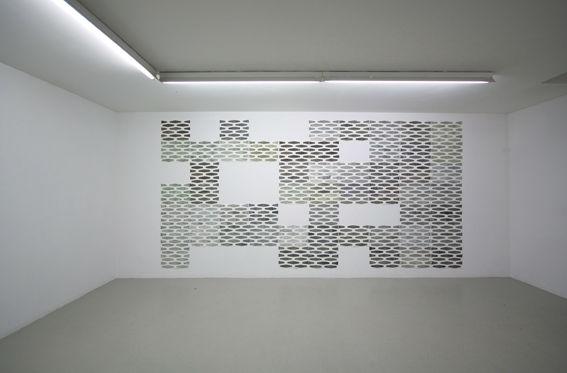 Von Vorne, Betonbausteine 2012, Ausstellungsansicht, Galerie Hafemann, Wiesbaden