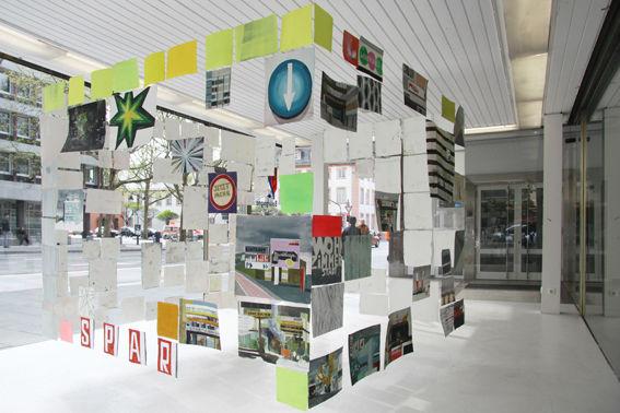 Von allen Seiten, 2011, Ausstellungsansicht, Pavillon Haus Burgund, Mainz 2011