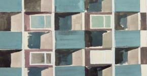 Katja von Puttkamer, Wohnhaus mit Balkonen (Ausschnitt), 2013