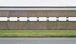 Vorsicht 46,5 x 80 cm 2005 analoge Farbfotografie und weiße Acrylfarbe hinter Acrylglas