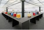 Installationsansicht Geräteobjekte im Mannheimer Kunstverein 2012
