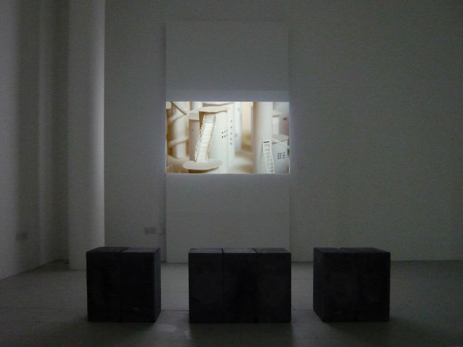 Meanwhile, elsewhere, Installation view