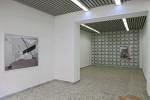 Ausstellungsansicht Raum für vollendete Tatsachen Düsseldorf, Christine Erhard / Jon Moscow, 2013