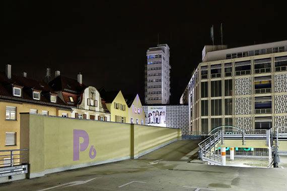 Jürgen Pollak: Tagblattturm/Rathausgarage