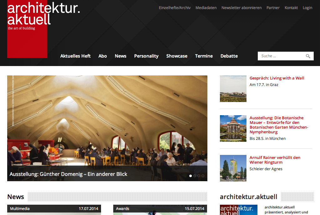 Header architektur.aktuell