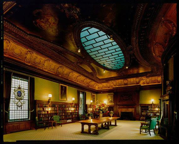 Metropolitan Club, View of Library © Jim Dow