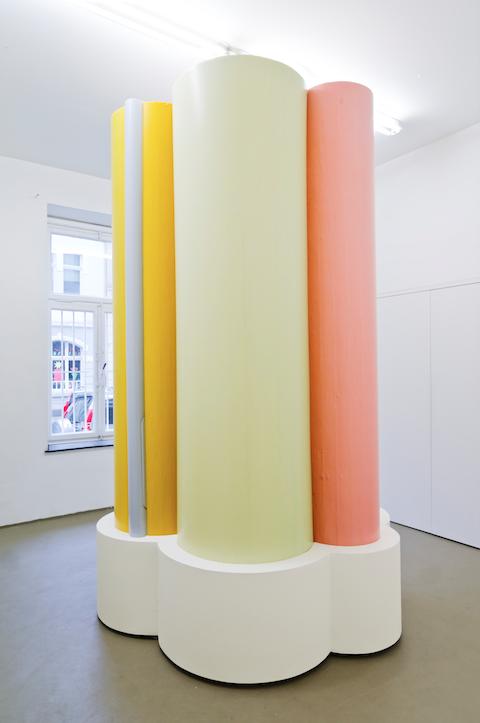 """Fotografische Skulptur """"Colourfields – Die Stille Post"""", 2012"""