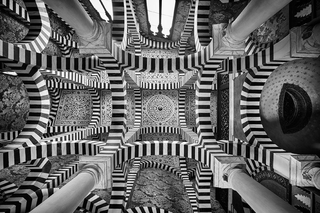 Arcuate Maze (c) S. Fennema