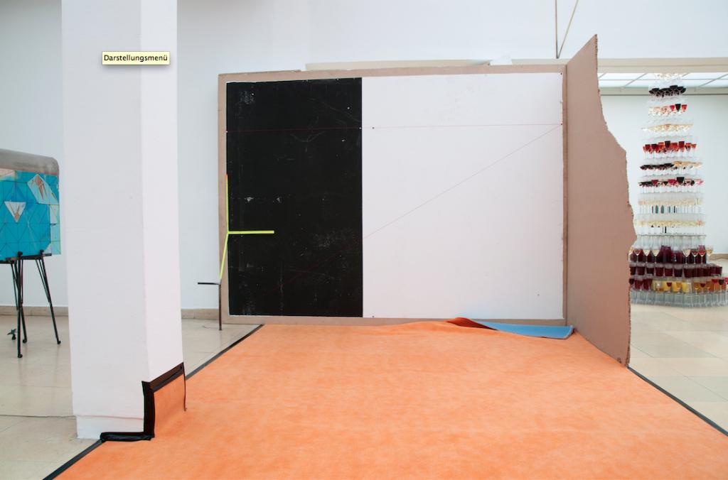 Installationsansicht Kunstpavillon Innsbruck