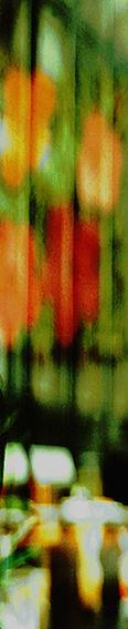 Tower_NY_Flowers Mischtechnik auf Holzkörper, 200 x 40 cm, Edition: Aufl. 5