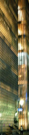 Tower_Tokyo_0115 Mischtechnik auf Holzkörper, 200 x 40 cm, Edition: Aufl. 5