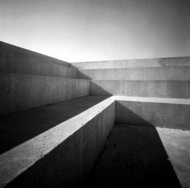 Markus Kaesler, shadows on concrete