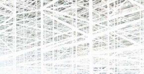 Andreas Gefeller: IP 18, aus Blank, 2014, 150 x 136 cm, Inkjetprint, gerahm