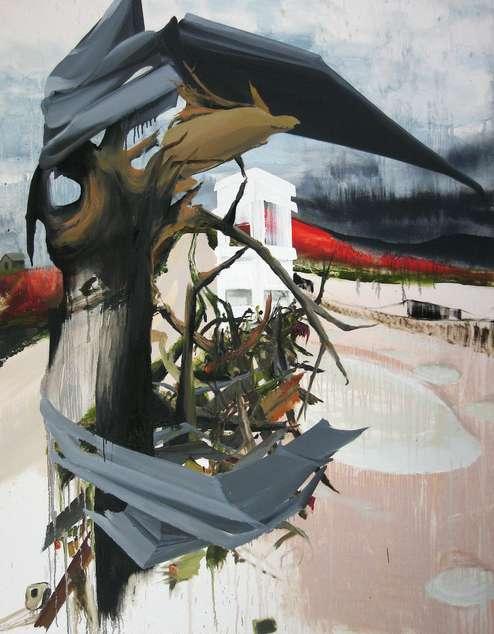 Schrott, Öl auf Leinwand, 180 x 140 cm, 2012