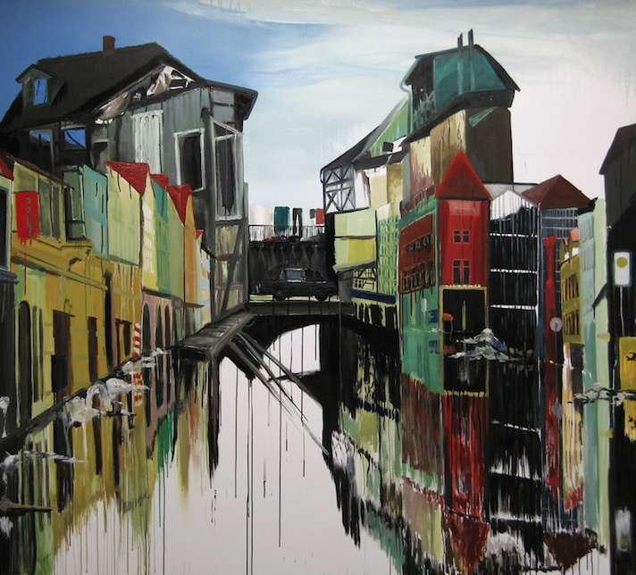 Venice Altmark, Öl auf Leinwand, 180 x 200 cm, 2013