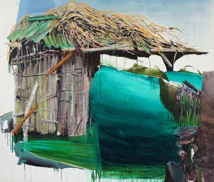 Meghay, Öl auf Leinwand, 150 x 175cm, 2016