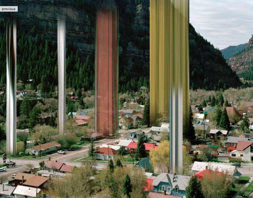 Ralf-Brueck: Twin Peaks / DISTORTION SERIES, 2011 © Ralf Brueck