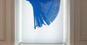 © Martina Wolf, VG Bild-Kunst Rollos (Detail), Olevano Romano, 2012 / 2016 Fotografien / Vektorgrafiken, Textildruck 5 Objekte, jeweils 156 x 320 cm Foto: Axel Schneider, Frankfurt