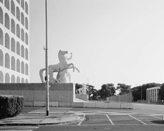 Hans-Christian Schink: EUR, Quadrato della Concordia (2), 2014