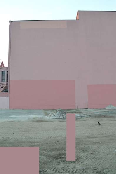 Accidental visions, photography on dibond, courtesy Frank Taal gallery