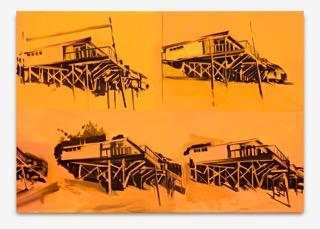 Roman Lipski, Ohne Titel, 2016, Acryl auf Leinwand, 200 x 130 cm