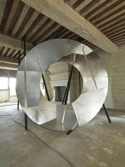 © Georges Rousse: CHAMBORD 2011 Lambdadruck vom Ektachrome auf mattem Papier, 160 x 210 cm