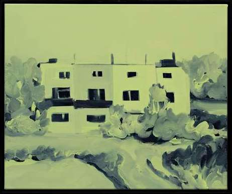 Ohne Titel, 2015, 50 cm x 60 cm, Acryl Leinwand