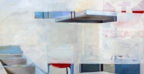 teile 2009, 160 x 190 cm, Öl auf Leinwand