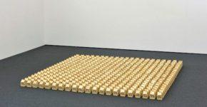 Alice Musiol, Ohne Titel V (2011), 310 x 310 x 16 cm, Toastbrot, Stecknadeln Ausstellungsansicht Wilhelm-Hack-Museum, 2011 (c) Alice Musiol, alicemusiol.de Alice Musiol, Ohne Titel V (2011), 310 x 310 x 16 cm, Toastbrot, Stecknadeln Ausstellungsansicht Wilhelm-Hack-Museum, 2011 (c) Alice Musiol, alicemusiol.de