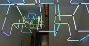 LED Interactive Installation I 2017 I Mader Wiermann