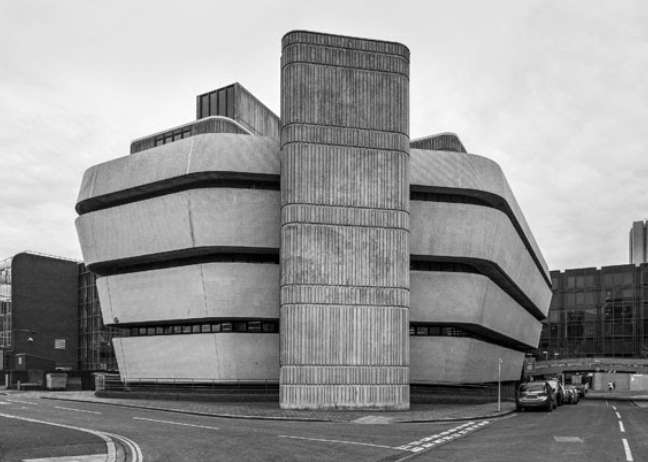Simon Phipps: Portsmouth Central Library, 1976 Architekt: City Architect Ken Norrish © Simon Phipps