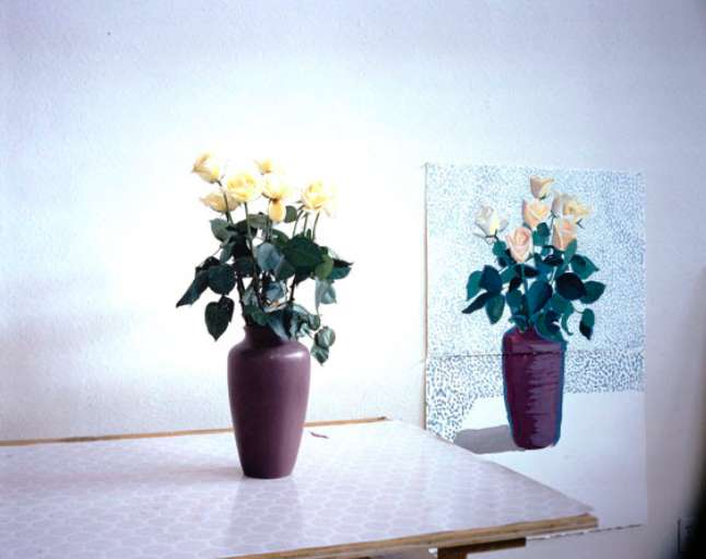 "David Hockney: ""Roses for Mother"", December 4th 1995, 1995 DZ BANK Kunstsammlung im Städel Museum"