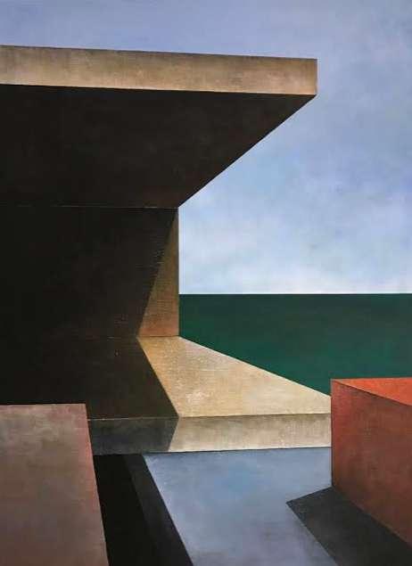 Johanna Jakowlev, Tragwerke II, 130 x 95 cm, 2017