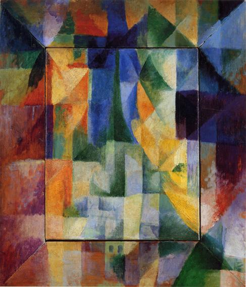 Fensterbild (Les Fenêtres simultanées sur la ville), 1912, Kunsthalle Hamburg