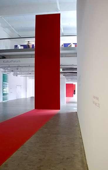 Roter Teppich, Stadtgalerie Kiel, 2013