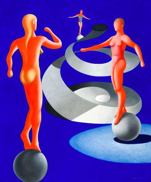El secreto de la imagen, 2007, 195 x 160 cm