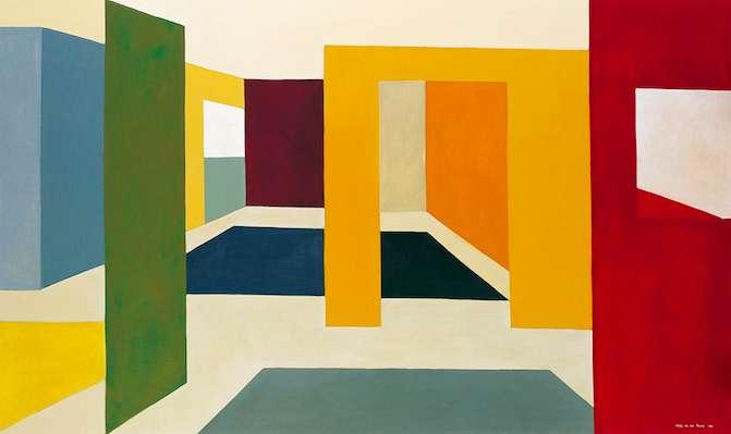 Nuevo estilo, 1996, 108 x 180 cm