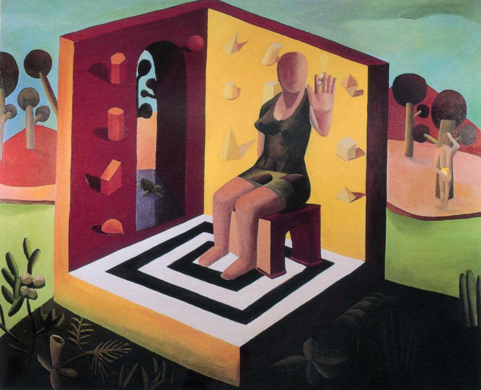 El no de karateca, 1991, 130 x 160 cm
